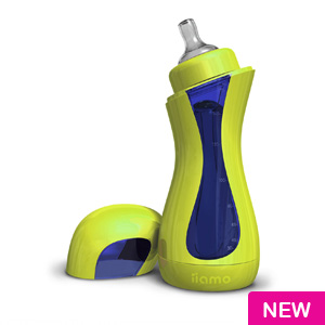 iiamo  Feeding Bottle (green/blue)