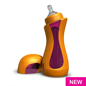 iiamo  Feeding Bottle (orange/purple)